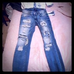 Refuge size 0 skinny jeans